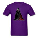 """Tall Darth and Handsome"" - Men's T-Shirt purple / S - LabRatGifts - 17"