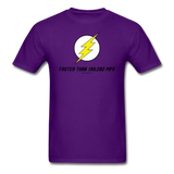 """Faster Than 186,282 MPS"" - Men's T-Shirt purple / S - LabRatGifts - 5"