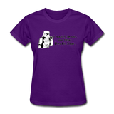 """I had Friends on that Death Star"" - Women's T-Shirt purple / S - LabRatGifts - 6"