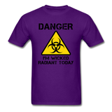 """Danger I'm Wicked Radiant Today"" - Men's T-Shirt purple / S - LabRatGifts - 5"