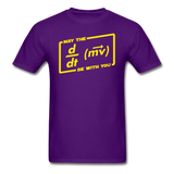 """May the Force Be With You"" - Men's T-Shirt purple / S - LabRatGifts - 5"