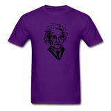 """Albert Einstein"" - Men's T-Shirt purple / S - LabRatGifts - 5"