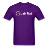 """Lab Rat, Check"" - Men's T-Shirt purple / S - LabRatGifts - 5"