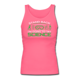 """Stand Back"" - Women's Tank Top fuchsia / S - LabRatGifts - 4"