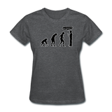 """Stop Following Me"" - Women's T-Shirt deep heather / S - LabRatGifts - 9"
