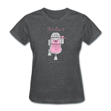 """R2-Tea-2"" - Women's T-Shirt deep heather / S - LabRatGifts - 7"