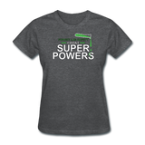"""Forget Lab Safety"" - Women's T-Shirt deep heather / S - LabRatGifts - 10"