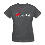 """Lab Rat, Check"" - Women's T-Shirt deep heather / S - LabRatGifts - 6"