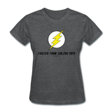 """Faster than 186,282 MPS"" - Women's T-Shirt deep heather / S - LabRatGifts - 5"