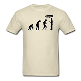 """Stop Following Me"" - Men's T-Shirt khaki / S - LabRatGifts - 15"