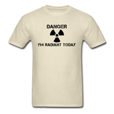 """Danger I'm Radiant Today"" - Men's T-Shirt khaki / S - LabRatGifts - 11"