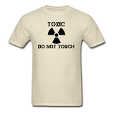 """Toxic Do Not Touch"" - Men's T-Shirt khaki / S - LabRatGifts - 10"