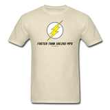 """Faster Than 186,282 MPS"" - Men's T-Shirt khaki / S - LabRatGifts - 11"