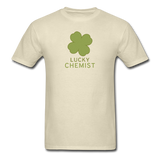 """Lucky Chemist"" - Men's T-Shirt khaki / S - LabRatGifts - 4"