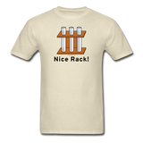 """Nice Rack"" - Men's T-Shirt khaki / S - LabRatGifts - 10"