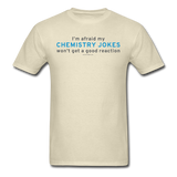 """Chemistry Jokes"" - Men's T-Shirt khaki / S - LabRatGifts - 11"