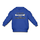 """I Found this Humerus"" - Toddler Sweatshirt royal blue / 2 Toddler - LabRatGifts - 5"