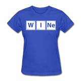 """WINe"" - Women's T-Shirt royal blue / S - LabRatGifts - 6"