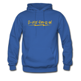 """Bazinga!"" - Men's Sweatshirt royal blue / S - LabRatGifts - 8"
