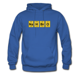"""NaH BrO"" - Men's Sweatshirt royal blue / S - LabRatGifts - 10"