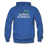 """Forget Lab Safety"" - Men's Sweatshirt royal blue / S - LabRatGifts - 9"