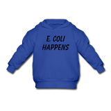 """E. Coli Happens"" (black) - Toddler Sweatshirt royal blue / 2 Toddler - LabRatGifts - 3"