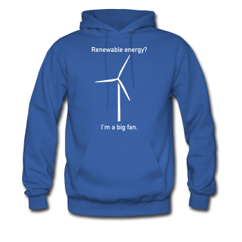 """I'm a Big Fan"" - Men's Sweatshirt royal blue / S - LabRatGifts - 1"