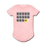 """Na Na Na Batmanium"" - Baby Short Sleeve One Piece light pink / Newborn - LabRatGifts - 5"