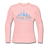 """Walter White Laboratories"" - Women's Long Sleeve T-Shirt light pink / S - LabRatGifts - 4"