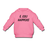"""E. Coli Happens"" (black) - Toddler Sweatshirt azalea / 2 Toddler - LabRatGifts - 1"