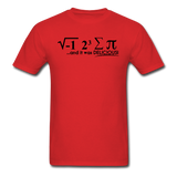 """I Ate Some Pie"" (black) - Men's T-Shirt red / S - LabRatGifts - 10"