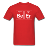 """BeEr"" - Men's T-Shirt red / S - LabRatGifts - 9"