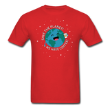 """Save the Planet"" - Men's T-Shirt red / S - LabRatGifts - 9"