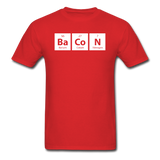 """BaCoN"" - Men's T-Shirt red / S - LabRatGifts - 8"
