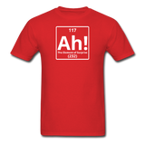 """Ah! The Element of Surprise"" - Men's T-Shirt red / S - LabRatGifts - 8"