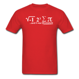 """I Ate Some Pie"" (white) - Men's T-Shirt red / S - LabRatGifts - 8"