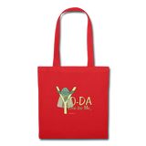 """Yo-Da One for Me"" - Tote Bag red / One size - LabRatGifts - 5"