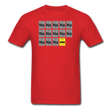 """Na Na Na Batmanium"" - Men's T-Shirt red / S - LabRatGifts - 9"