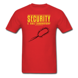 """Security E. Coli Laboratory"" - Men's T-Shirt red / S - LabRatGifts - 6"