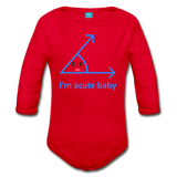 Acute Long Sleeve Baby Bodysuit