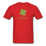"""Lucky Biologist"" - Men's T-Shirt red / S - LabRatGifts - 6"