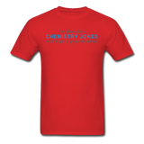 """Chemistry Jokes"" - Men's T-Shirt red / S - LabRatGifts - 6"