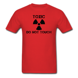 """Toxic Do Not Touch"" - Men's T-Shirt red / S - LabRatGifts - 5"