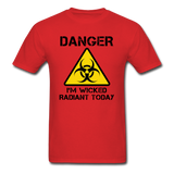"""Danger I'm Wicked Radiant Today"" - Men's T-Shirt red / S - LabRatGifts - 6"