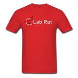 """Lab Rat, Check"" - Men's T-Shirt red / S - LabRatGifts - 6"