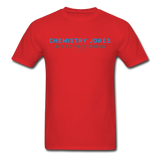 """Chemistry Jokes are so very Boron"" - Men's T-Shirt red / S - LabRatGifts - 5"