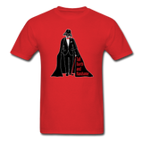 """Tall Darth and Handsome"" - Men's T-Shirt red / S - LabRatGifts - 14"