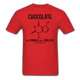 """Chocolate"" - Men's T-Shirt red / S - LabRatGifts - 10"