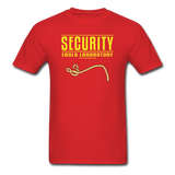 """Security Ebola Laboratory"" - Men's T-Shirt red / S - LabRatGifts - 6"