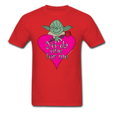 """Yo-da one for me"" - Men's T-Shirt red / S - LabRatGifts - 13"